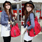 NEW FASHION Designer Womens Canvas Handbag Tote Shoulder Bag HOBO Shopper Bad
