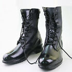 hs31 zippered combat fashion long Boots