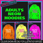 THE ONLY WAY IS PERSONALISED HEN NIGHT  TOWIE ESSEX  ADULTS ELECTRIC HOODIE