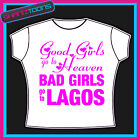 LAGOS GIRLS HOLIDAY HEN PARTY PRINTED TSHIRT
