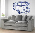 VW camper van Giant Wall Art,Stickers Mural,Large,Vinyl,128,Vehicle,Splitscreen