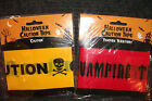Halloween Caution or Vampire Territory Pvc Tape Free First Class Post