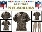NFL REALTREE SCRUB TOP or NFL REAL TREE SCRUB PANTS-REALTREE SCRUBS-NFL REALTREE on eBay