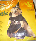 Witch Bewitched Dog Costume S M L NIP