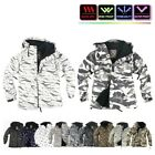NWT Winter Mens Womens FullZip Snowboard Ski Jacket Jumper Hoodie Hooded Top AU