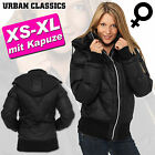 URBAN CLASSICS   LADIES DAMEN WINTER HOODY JACKE ARROW BLOUSON + ABNEHM. KAPUZE