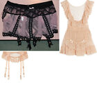 Agent Provocateur Ellisa Lucienne Pinafore Suspender Garter Belt New BNWT