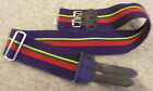 ROYAL MARINES STABLE BELT -  MUTIPLE SIZES - BRITISH MILITARY ISSUE  - PRISTINE