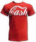 CASH T Shirt Worn By Jack White of the White Stripes (Retro Rock Tee) Coca Cola