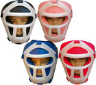 Junior Children's Boxing Head Guard Kids Face Protector Bar Visor Martial Arts