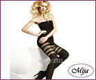 Very sexy and elegant mock suspender stockings tights hold-ups Gatta Girl-up 05