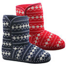 NEW LADIES SLIPPERS ANKLE BOOTS WOMENS SLIPPERS WINTER COSY WARM FUR BOOTIES
