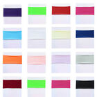 100 Spandex Stretch Chair Cover Bands Replace Chair Sash Bow Colors Banquet New