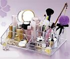 Makeup Cosmetic Organizer Acrylic Crystal  Clear Case Luxury drawer Holder new
