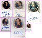 A3 A4 A6 MAC03 AA2 AA3 AA11 AA12 BBA11 Auto Cards Star Trek Enterprise Bakula