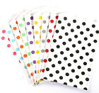 Polka Dot Medium Food Safe Flat Paper Craft Favor Bags Whisker Graphics-pk of 10