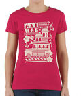 ♥ NEW CUTE ANIMAL WOMENS ALLIA CREW T SHIRT TOP CERISE PINK.SOFT COTTON 401/591