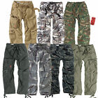 Mens Military Surplus Airborne Army Combat Cargo Work Trousers Pants W30 - W50