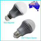 Brand New 5W B22 Bayonet / E27 Edison Screw Cool Pure White/Warm White LED Bulb