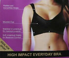 #B28 Dr Rey  High Impact  Everyday Bra Size 12 14 16 B C D DD Cup UK/US 34 36 38