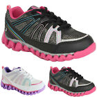 BRAND NEW GIRLS SCHOOL SHOES KIDS LIGHT WEIGHT PE PUMPS TRAINERS SIZES 10-2 UK