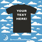 PERSONALISED, CUSTOM T-SHIRTS! MANY COLOURS AVAILABLE!