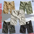 Surplus Trooper Vintage Shorts Bermuda kurze Bade Hose Beach Cargo Chino US Army