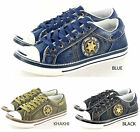 New Mens Boys Trainers  Canvas Shoes Ankle Boots In UK Sizes 7 8 9 10 11 12