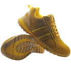 NEW MENS SUEDE SAFETY SHOES WORK BOOTS STEEL TOE CAP LADIES HIKER TRAINERS