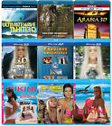 3D Blu-ray YOUR CHOICE IMAX movies and more! Bluray for 3-D Glasses & 3D TV!