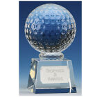 Crystal Golf Trophies in Presentation Box Free Engraving