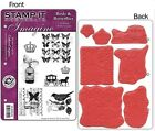 Crafter's Companion Stamp-It EZMount Cling Mini Binder Stamp Set 64 or 67