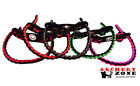Dimond Braid Bow Paracord Wrist Sling Strap Leather Yoke over 35 colors 2 choose