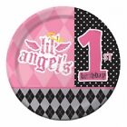 1st Birthday Girl Lil Angel Partyware Express Delivery  Free Postage