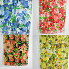 Large Floral print cotton scarves like a big water color painting