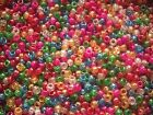 Glitter Pony Beads Choice 100/500,Mixed or Single colour,FOR DUMMY CLIPS,BRADING