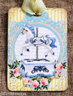 Hang Tags  CAROUSEL HORSE TAGS or MAGNET #569  Gift Tags