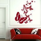 Beautiful Butterflies Wall Transfer / Art Decor / Butterfly Wall Sticker Ra204
