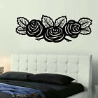 Rose Floral Wall Transfer /Removable Wall Decor / Flower Wall Sticker RA104