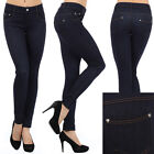 N21 Denim Soft Luxury JEGGINGS Knit Jeans Leggings Cotton Pants S / M M / L JN046
