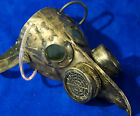 Leather Doctor's plague gas mask handmade LARP burning steampunk man  comiccon