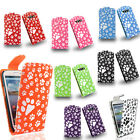 Footprint paws print flip pu leather case cover for Samsung Galaxy S3 III i9300