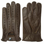 NEW TOP QUALITY REAL SOFT LEATHER MENS DRIVING GLOVES BLACK BROWN TAN (7011)