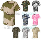 Code V Camouflage T-Shirt S-2XL Short Sleeve 100% Cotton Camo Tee 3906 NEW!