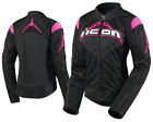 ICON WOMENS CONTRA TEXTILE JACKET NEW WITH TAGS