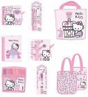 Hello Kitty Gifts-Notebook Pen Pencil Colour  Stationery Set Tote Bag & more