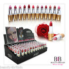 72 x Lipstick Luxury Assorted Colours in Display Box WHOLESALE UK STOCK