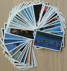 Brooke Bond-Discovering our Coast-50 Cards-LAMINATED-Individual-1988-Vintage