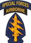 U.s. Army Special Forces Airborne Window Wall Vinyl Decal Sticker Military