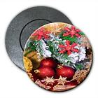 Christmas Decorations with Baubles Stars Fridge Magnet